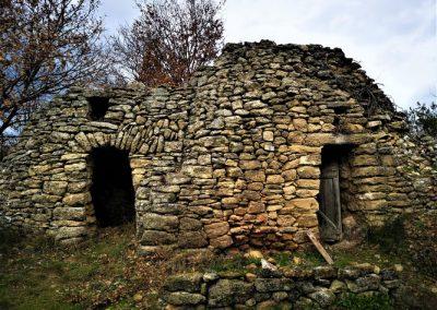 Les cabanes en pierres sèches